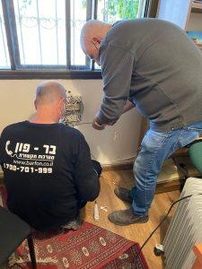 חיבור קווי טלפון במשרד בחיפה
